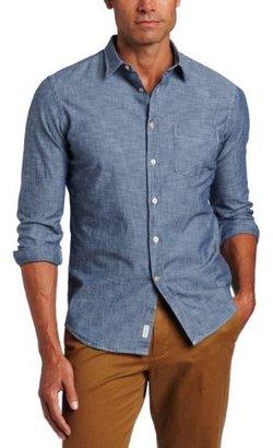 Façonnable Tailored Denim Men's Chambray Button Down Shirt
