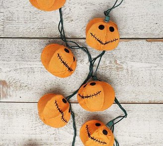 Pottery Barn Jack O' Lantern Pumpkin String Lights