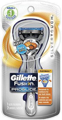 Gillette Fusion ProGlide FlexBall Manual Silvertouch Razor