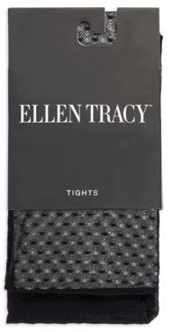 Ellen Tracy Sheer Patterned Tights