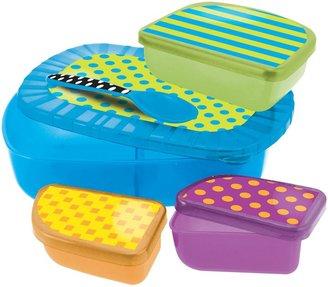 Sassy On-the-Go Feeding Set - Multicolor