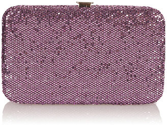 Topshop Glitter Hard Phone Purse