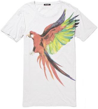 Balmain Long-Length Printed Cotton T-Shirt