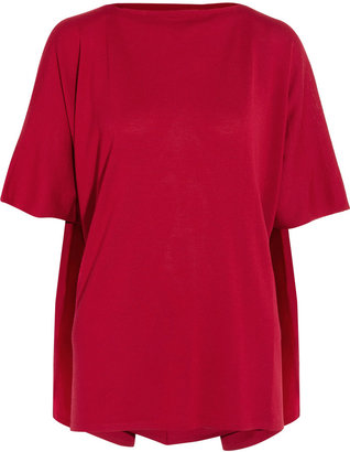 Maison Martin Margiela Cape-back wool top