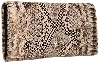 Vivienne Westwood Long Wallet w/ Chain (Gold) - Bags and Luggage