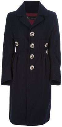 DSquared DSQUARED2 single breasted coat