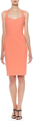 Narciso Rodriguez Full-Zip Cutout Dress