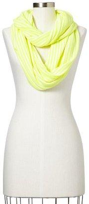 Gap Neon-stripe infinity scarf