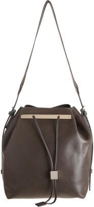 The Row Drawstring Bucket Bag