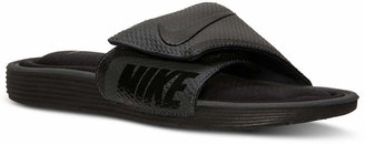 new products c7f27 b5955 Nike Men Solarsoft Comfort Slide Sandals from Finish Line
