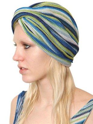 Missoni Striped Lurex Viscose Knitted Headband