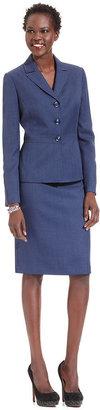 Le Suit Skirt Suit, Twill Jacket & Skirt