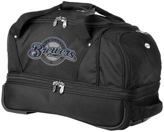 Milwaukee brewers 22-in. wheeled drop-bottom duffel bag