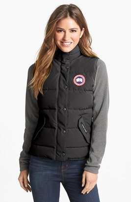 Women's Canada Goose 'Freestyle' Slim Fit Down Vest $395 thestylecure.com