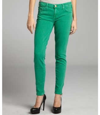 Current/Elliott apple stretch denim 'The Ankle' zip skinny jeans