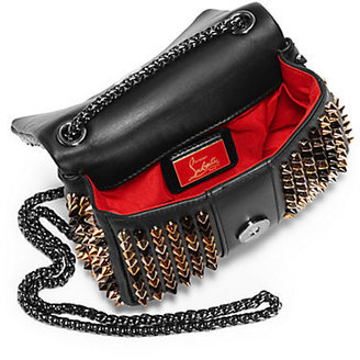 Christian Louboutin Sweet Charity Spiked Shoulder Bag
