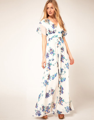 French Connection Sweet Pea Print Maxi Dress