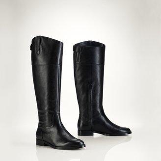 Ralph Lauren Jenessa Vachetta Riding Boot