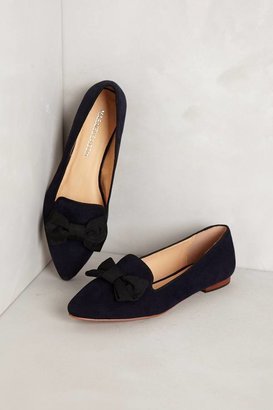 Anthropologie Bowtie Loafers