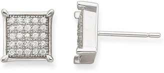Asstd National Brand 1/3 CT. T.W. Diamond Square-Frame Stud Earrings