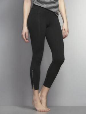 New York & Co. Love NY&C Collection Yoga Legging - Zip Ankle