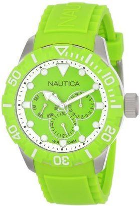 Nautica Unisex N13640G NSR 101 Multi- South Beach Classic Analog with Enamel Bezel Watch $47.99 thestylecure.com