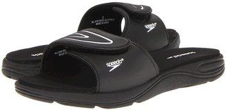 Speedo Pool Slide (Black/White) - Footwear