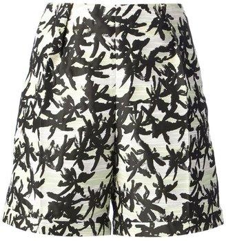 Kenzo palm leaf shorts
