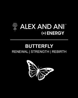 Alex and Ani Butterfly Expandable Wire Bangle, Charity by Design Collection