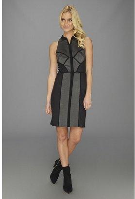 Nicole Miller Grace Tweed Dress (Navy) - Apparel