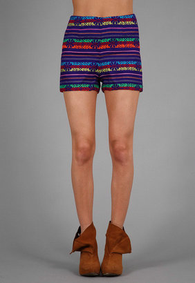 Kenny Guadalajara Shorts in Purple -