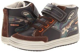Geox Kids - Jr Elvis 14 (Toddler/Little Kid) (Brown/Orange) - Footwear