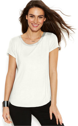 Alfani High-Low T-Shirt, Only at Macy's $34.50 thestylecure.com