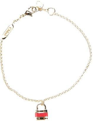 Chloé padlock charm bracelet