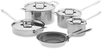 All-Clad d5 Stainless-Steel Nonstick 10-Piece Cookware Set