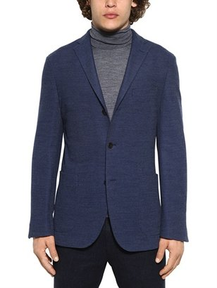 Boglioli Deconstructed Honeycomb Jersey Jacket