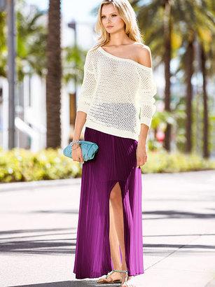 Victoria's Secret Pleated Maxi Skirt