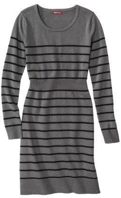 Merona Petites Long Sleeve Scoop Neck Sweater Dress - Assorted Colors