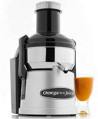 CLEARANCE Omega BMJ330 Juicer, Mega Mouth