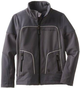 Urban Republic Boys 8-20 Big Boy 2177 Soft Shell Jacket, Charcoal, 10/12