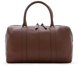 MANGO TOUCH - Leather tote