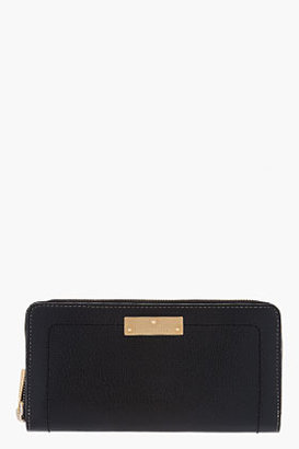 Marc Jacobs Black Leather Deluxe The 1984 Wallet