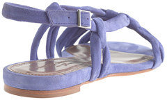 Tabitha Simmons for J.Crew Maggie Mott sandals in suede