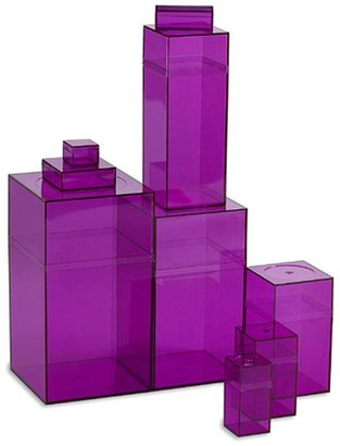Container Store Amac Box Purple