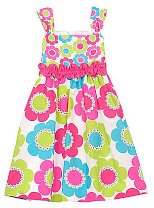 Rare Editions 2T-6X Daisy-Print Dress