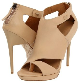 L.A.M.B. Amanda (Nude Leather) - Footwear