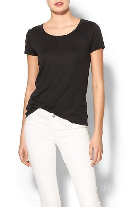 Velvet by Graham & Spencer Rissy Luxe Slub Tee