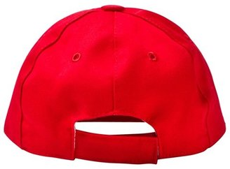 Moschino Kid-Teen Red Branded Baseball Cap