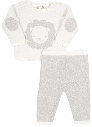 Barneys New York Infants' Lion Sweater & Pant Set - Cream