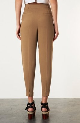 Topshop 'Mensy' Tapered Trousers